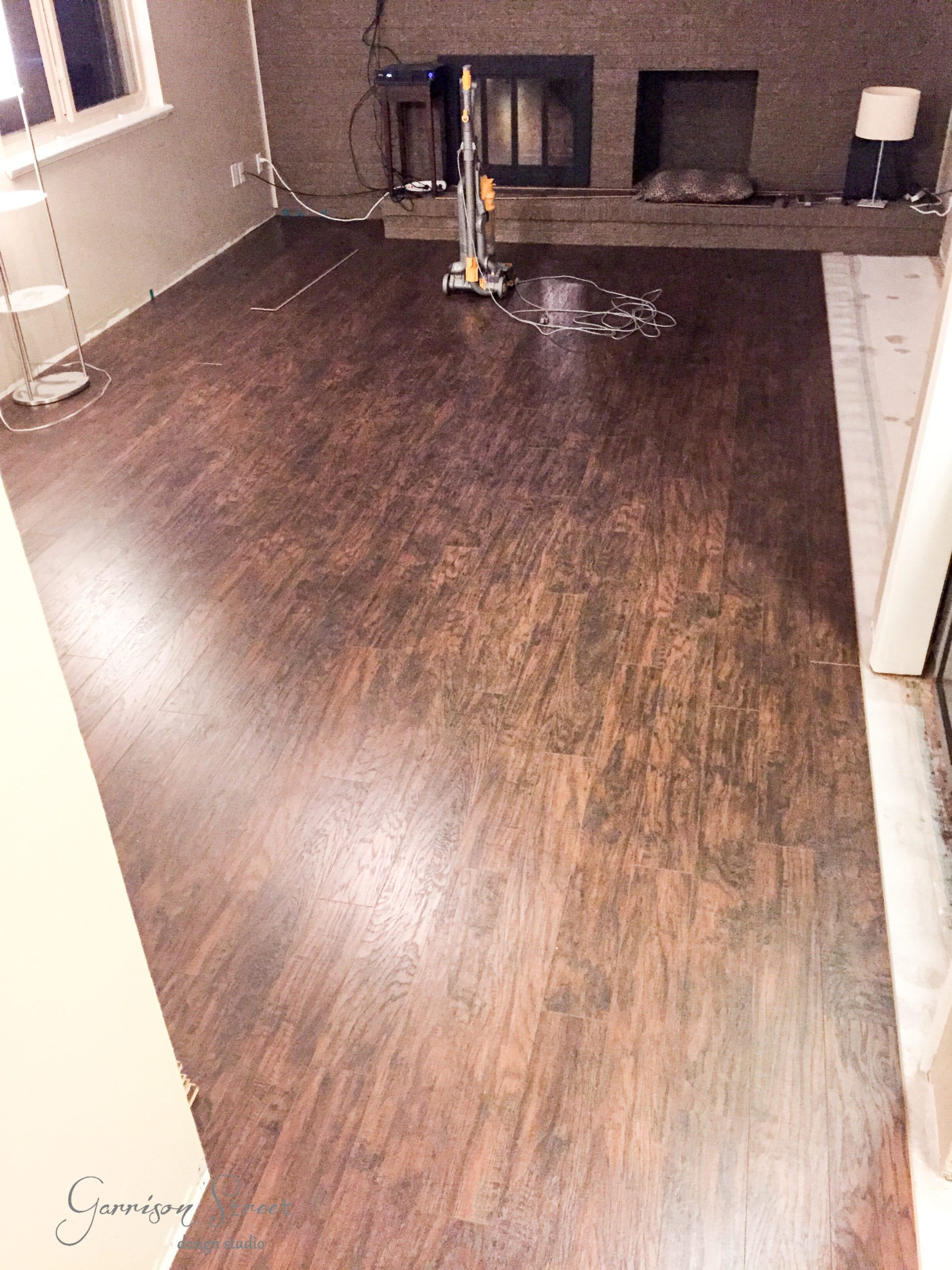 Flooring and More - Our Family Room Update