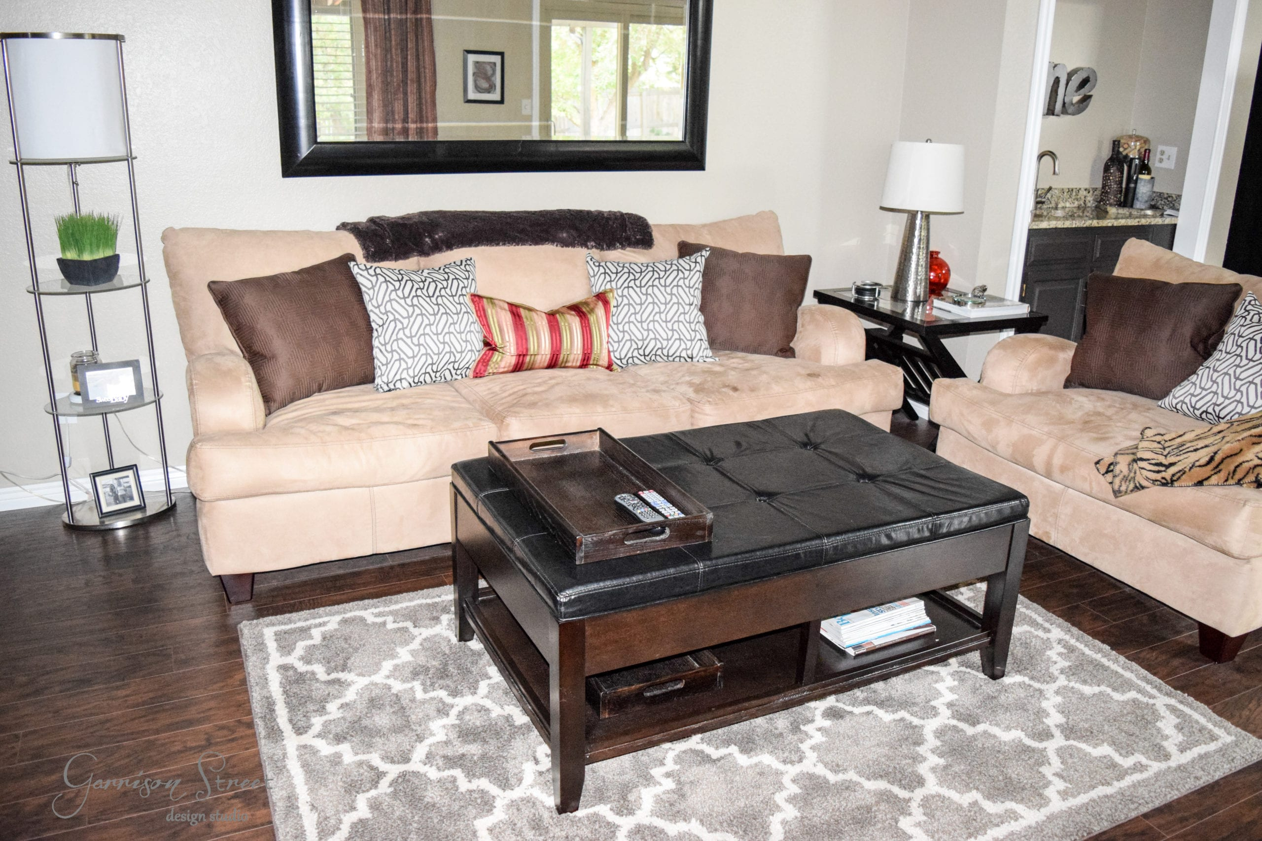 Ready, Set, Move In Part II - Family Room Update