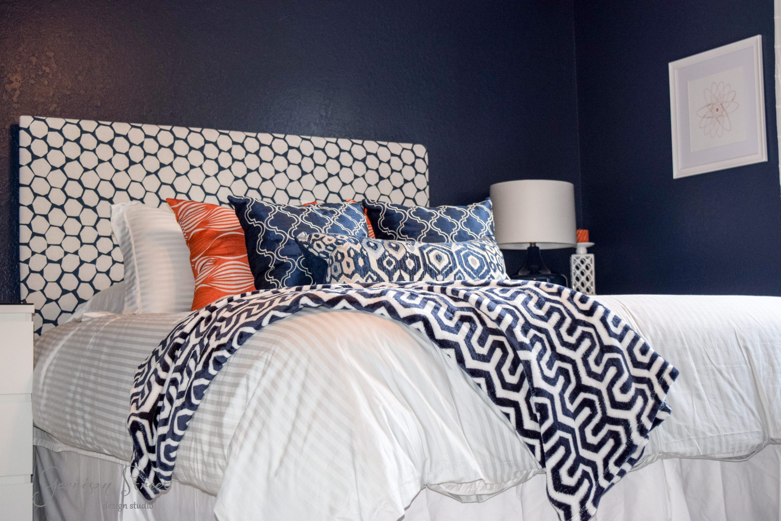 Ready, Set, Move In Part V - A Blue Guest Room