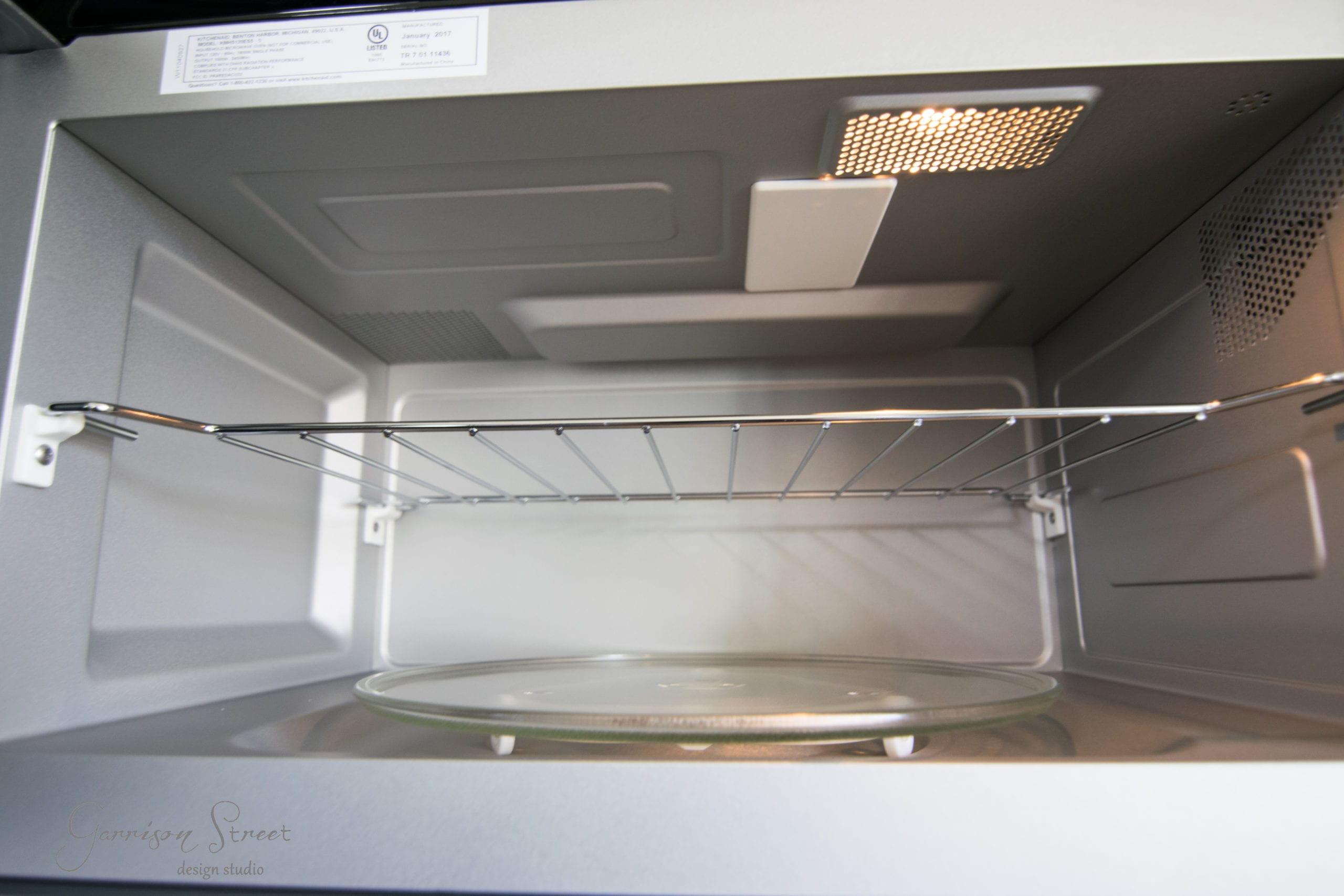 Installing A Sleek New Microwave & How We Chose It