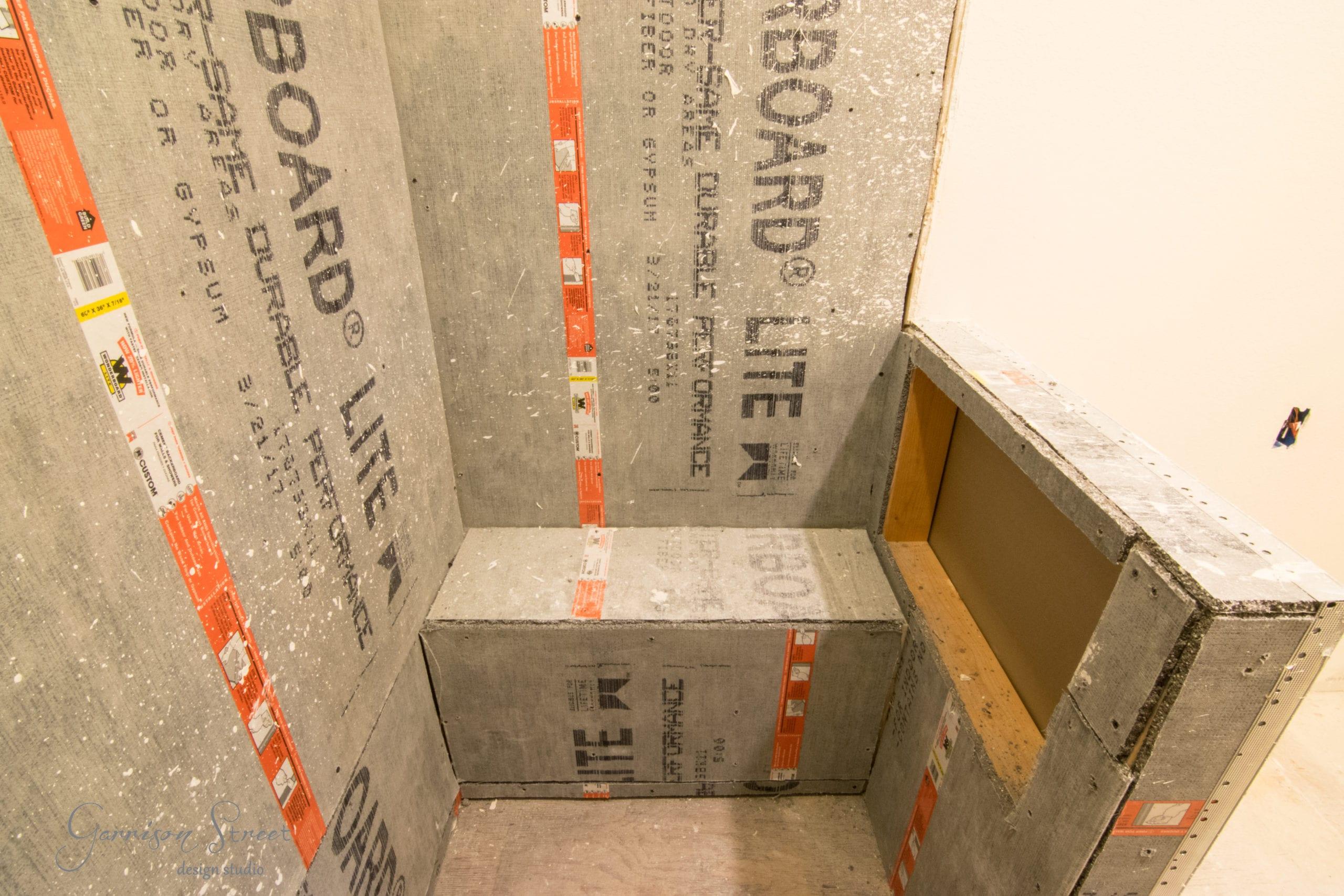 Master Bathroom Progress - We Have Walls!!!
