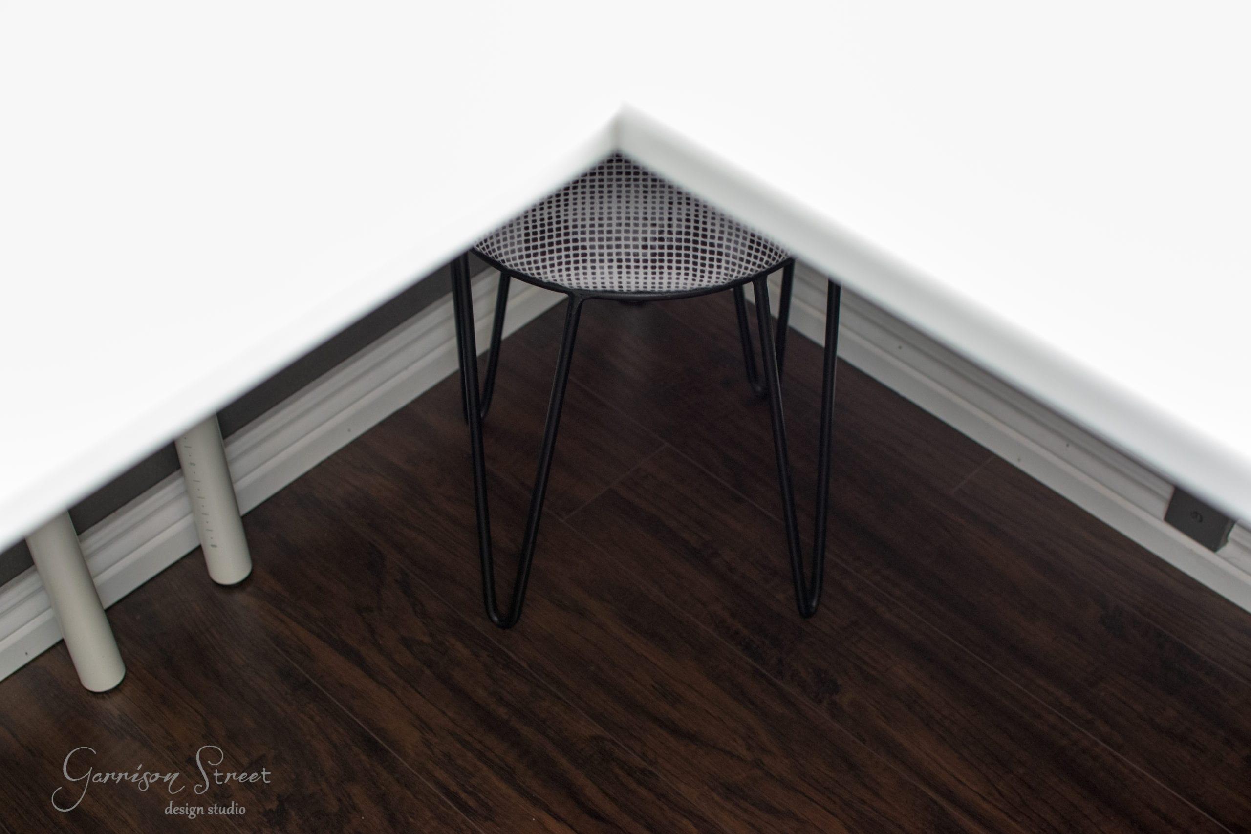 DIY Footstool Makeover