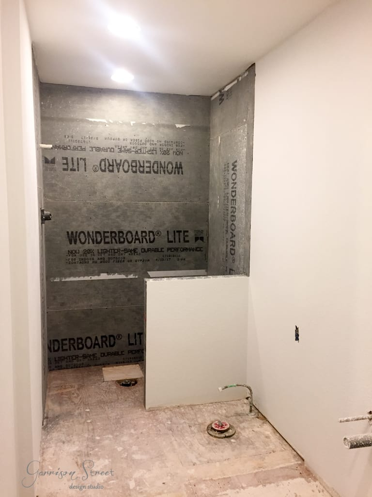 Master Suite Update Goes Down the Drain