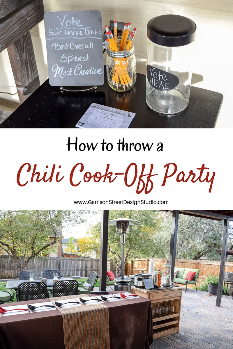 Chili Cook-Off Party