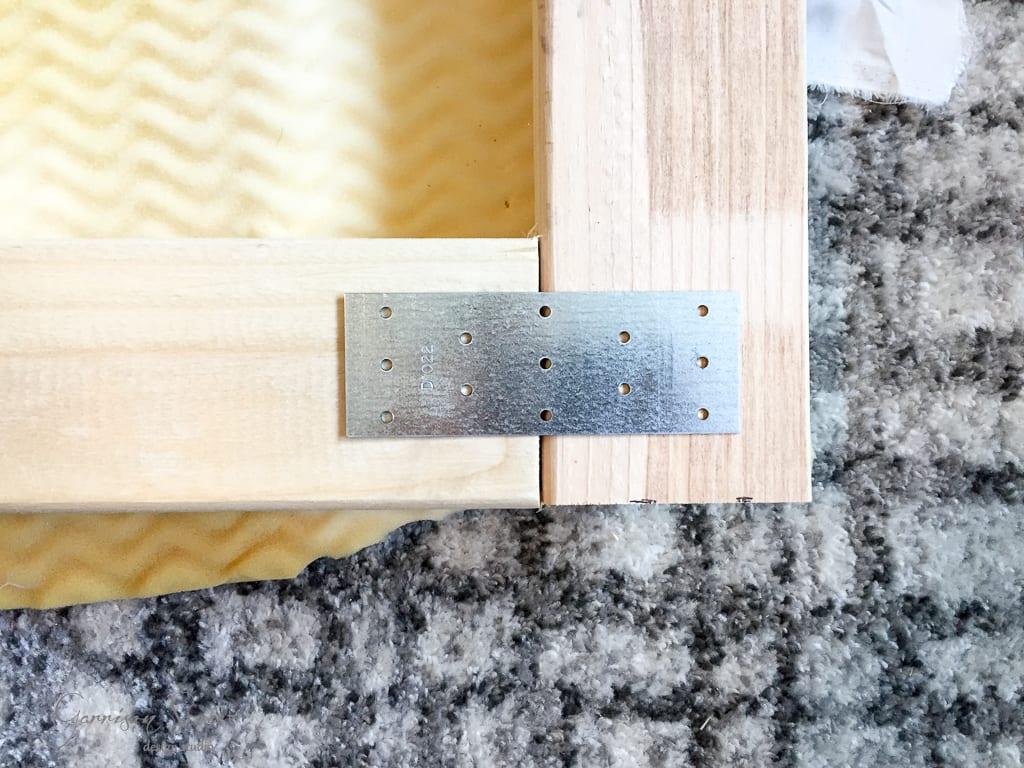 DIY Designer Upholstered Bed