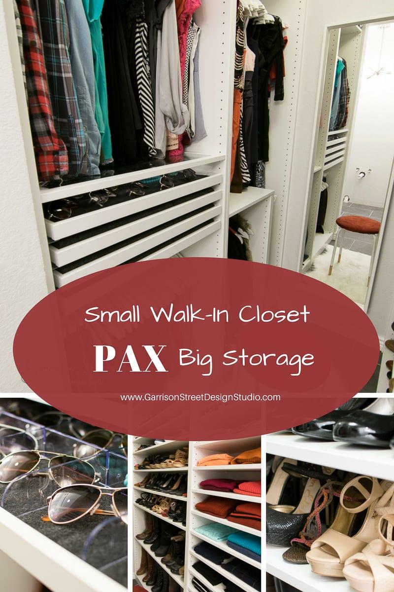 IKEA PAX Small Walk-in Closet