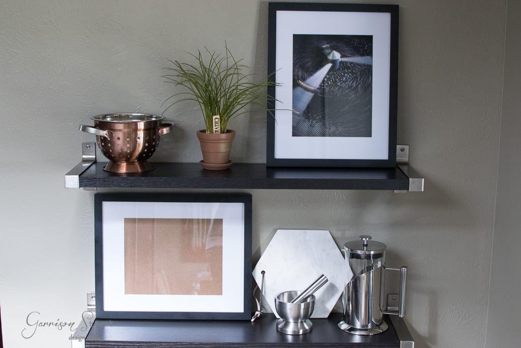 Kitchen Makeover - Open Shelving