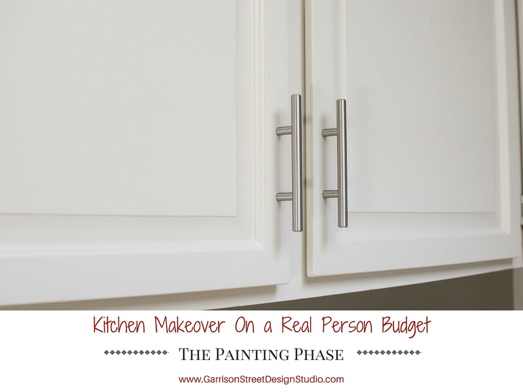 Kitchen Makeover - The Painting Phase