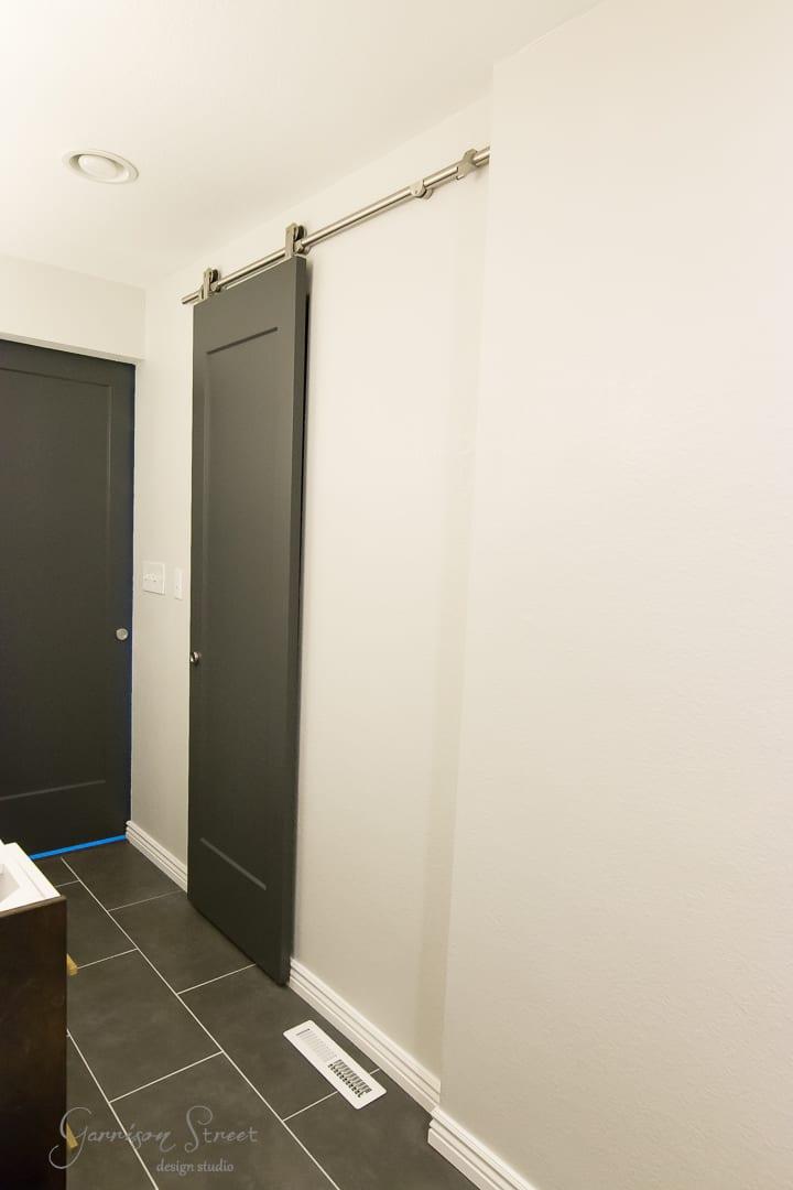 How to Hang a Modern Barn Door