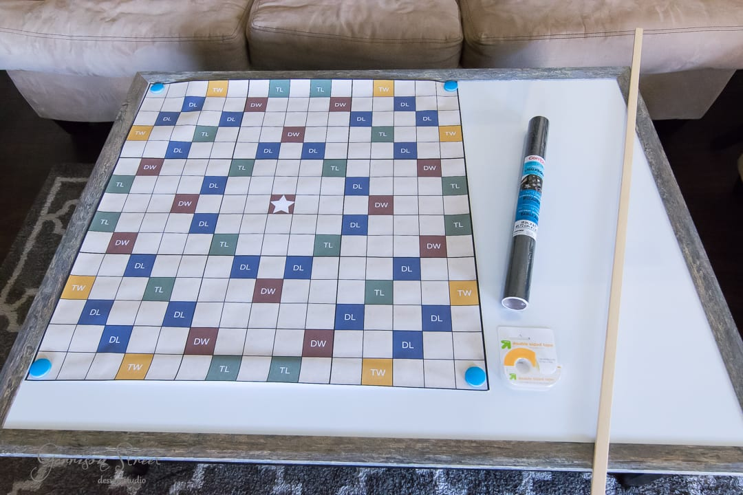 DIY Giant Word Game with Printable Game Board