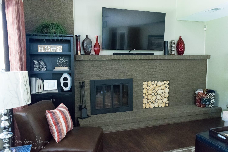 DIY Aspen Log Fireplace Insert