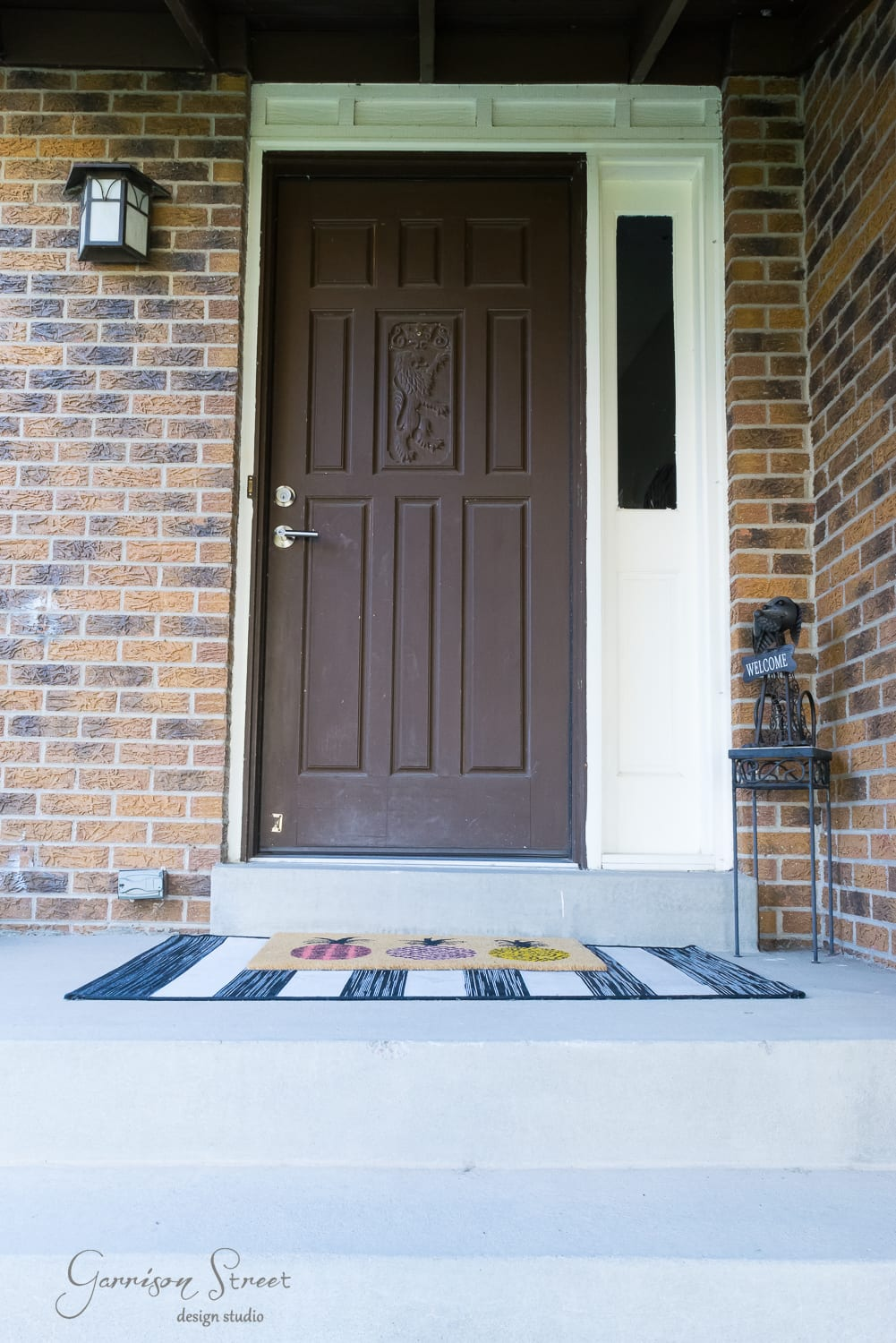 Fall Front Porch Makeover