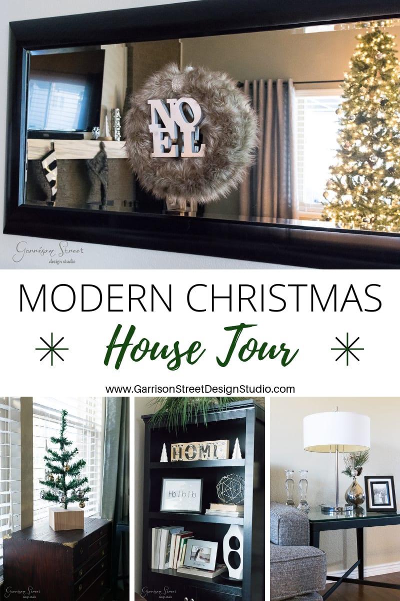 Modern Christmas House Tour 2018