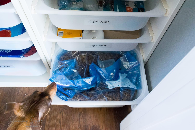 DIY Coat Closet Organization | An Ikea Trofast Hack