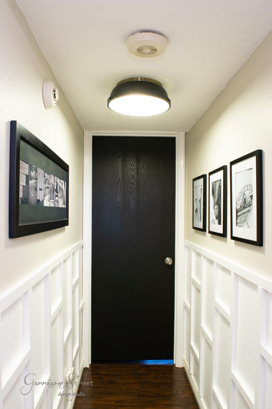 DIY Hallway Makeover with Board and Batten
