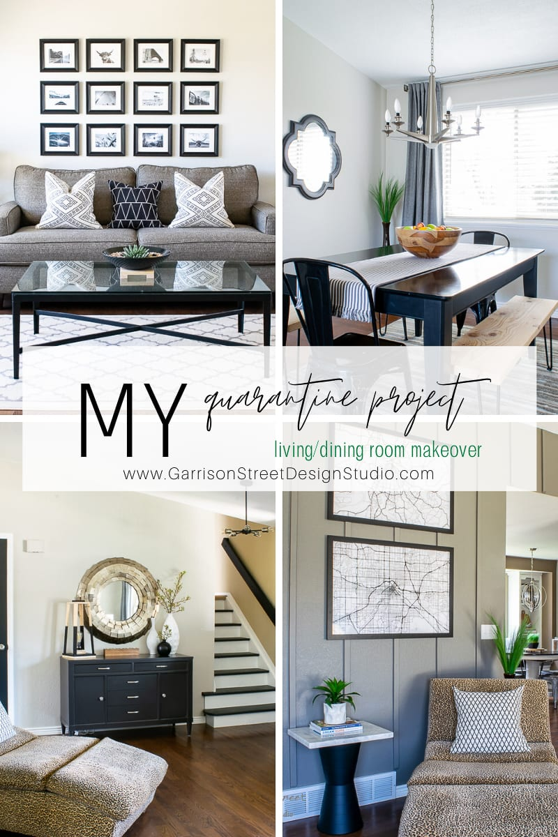 My Quarantine Project   Living/Dining Room Makeover