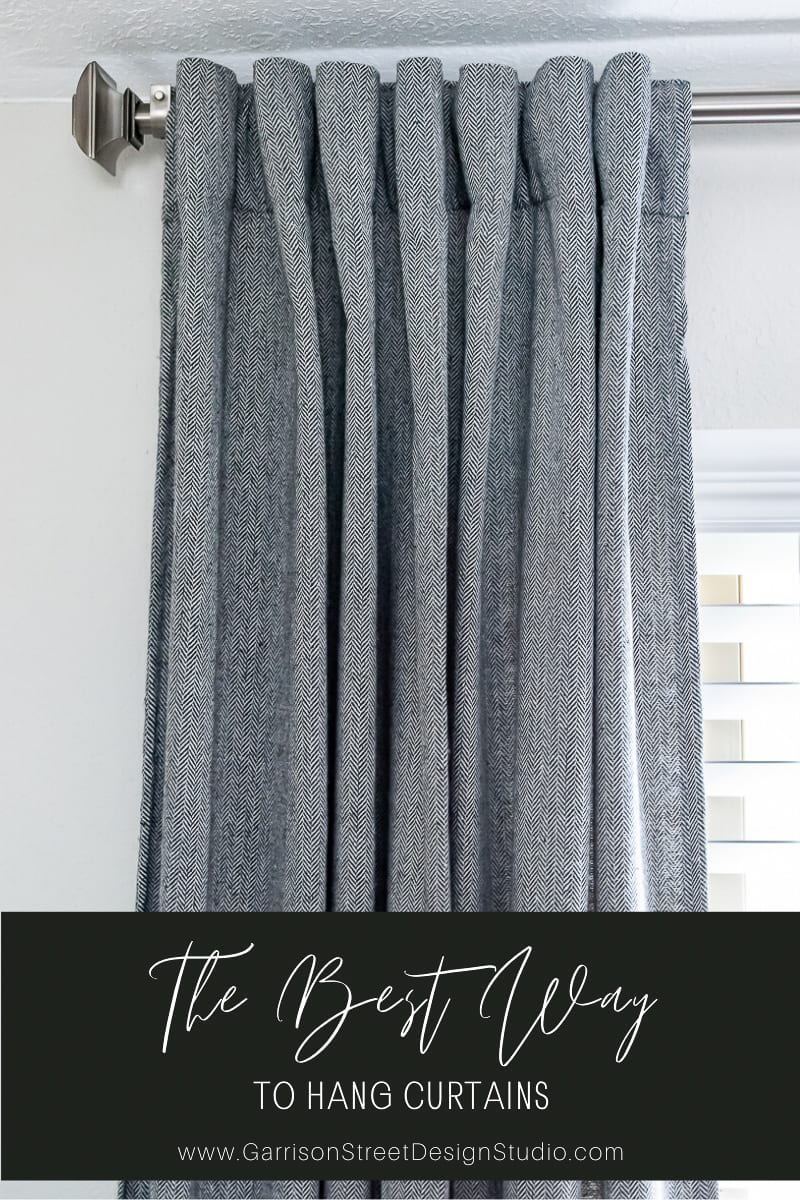 The Best Way to Hang Curtains