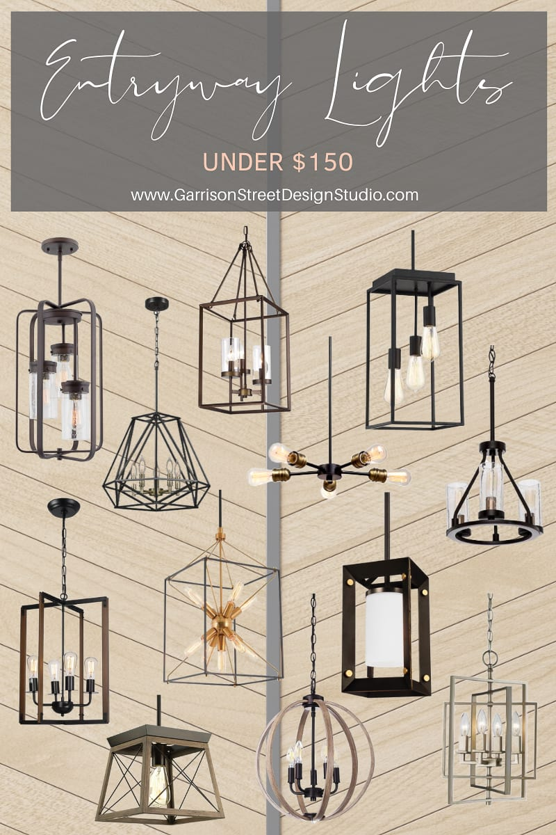 Entryway Lights Under $150
