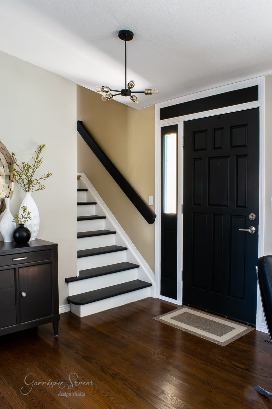 How I Made Our Front Door Taller