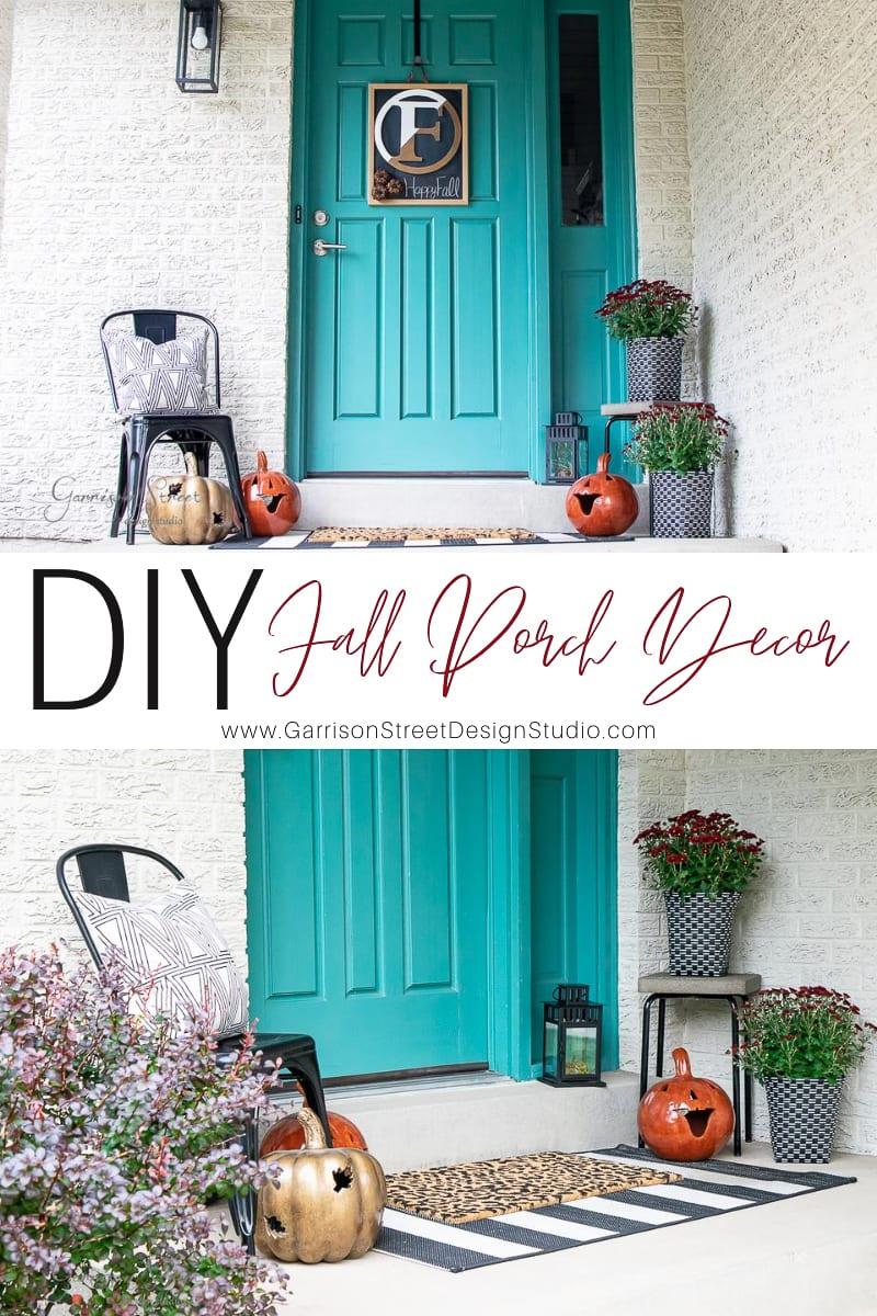 DIY Fall Porch Decor