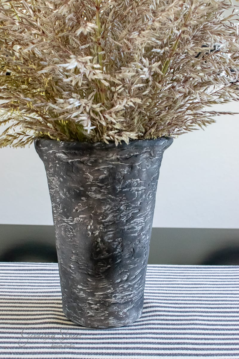 DIY Artisan Pottery Vase