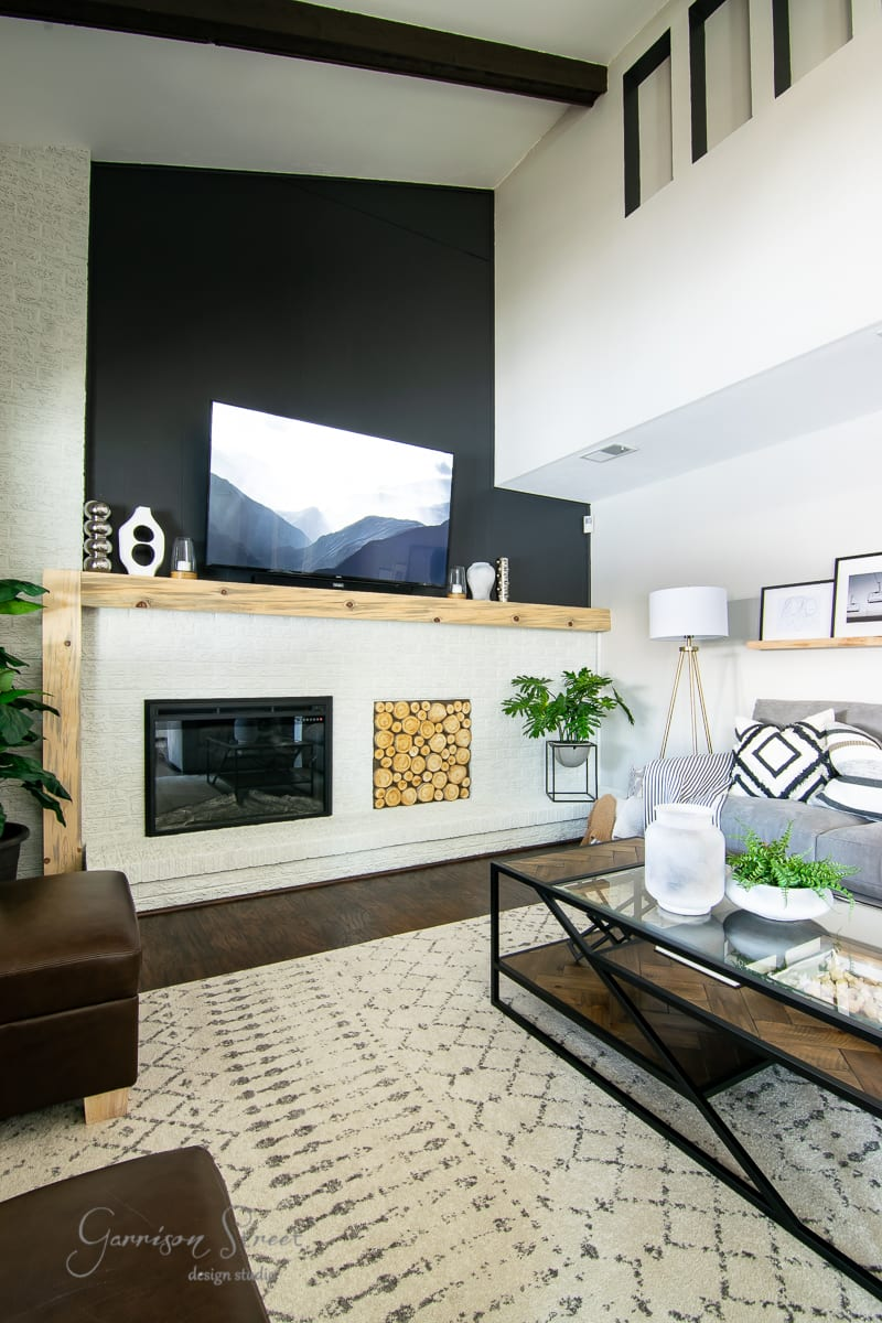 Casual Modern Family Room Reveal