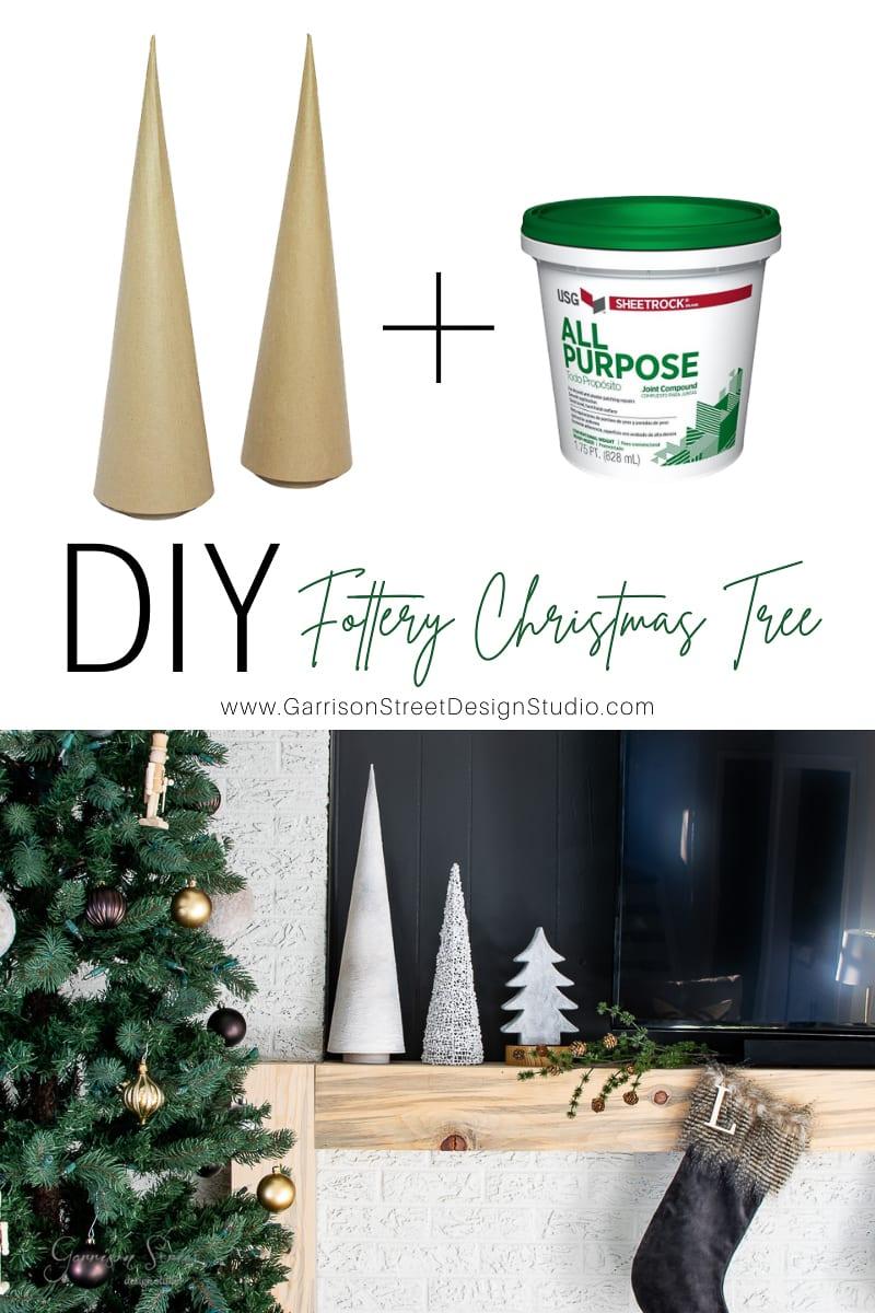 DIY Fottery Christmas Trees