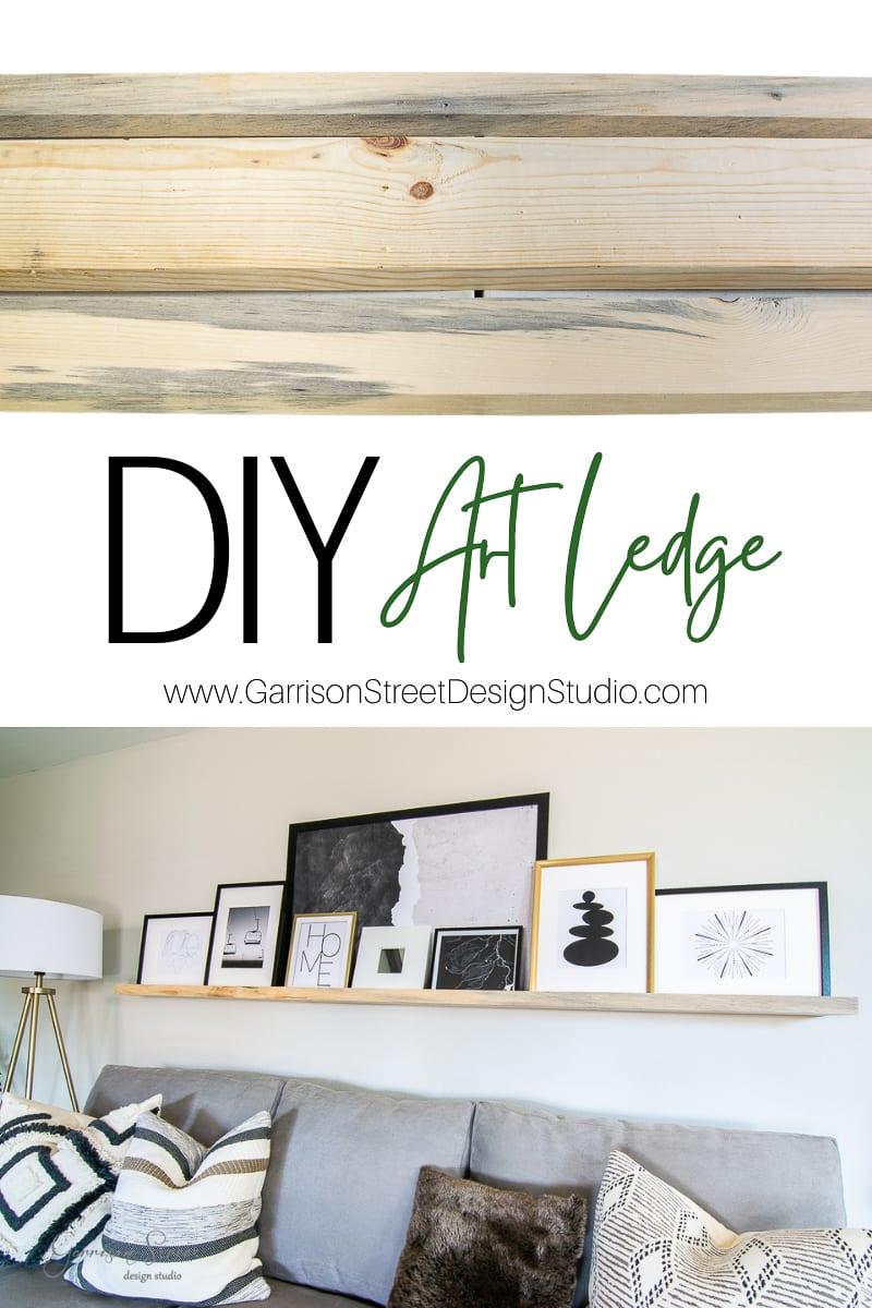 DIY Art Ledge