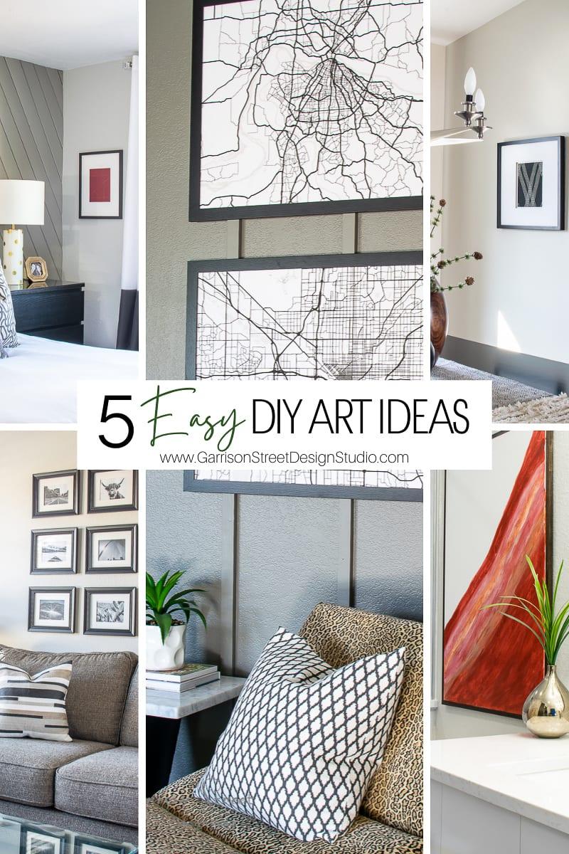 5 Easy DIY Art Ideas