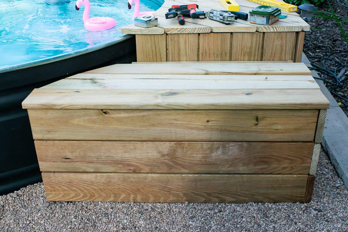 Stock Tank Pool Deck Tutorial