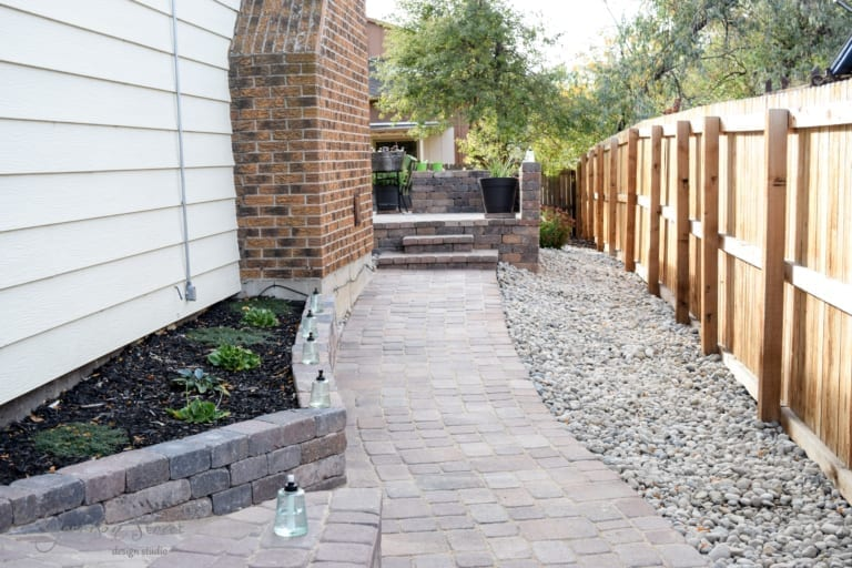 Side Yard Hard-Scaping