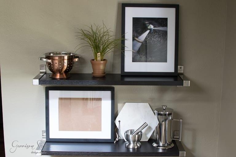 Kitchen Makeover – Open Shelving