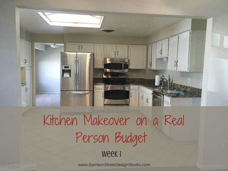 Kitchen Makeover on a Real Person Budget