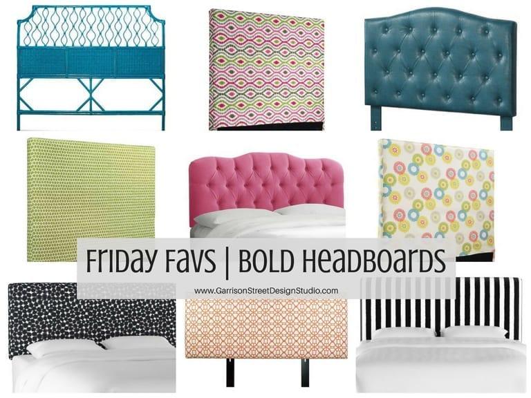 Friday Favs | Bold Headboards