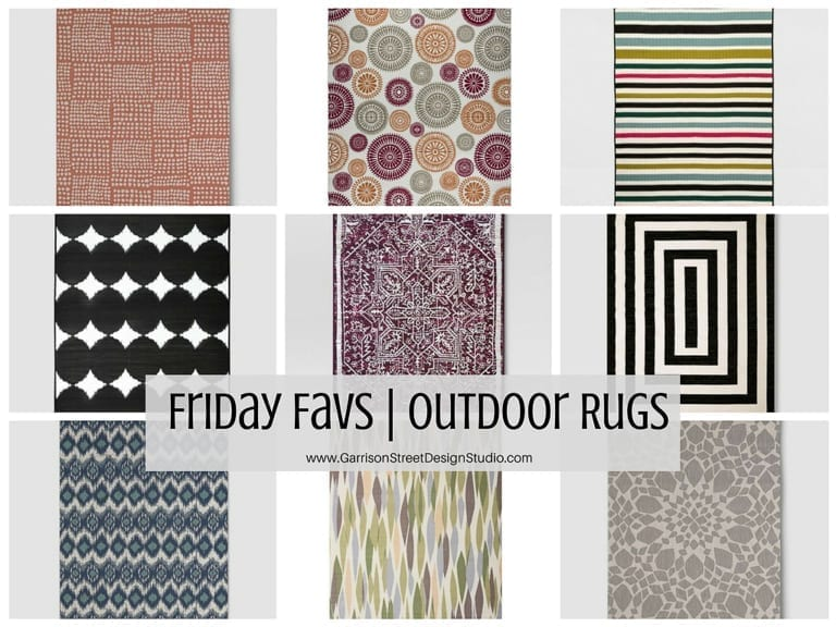 Friday Favs | Outdoor Rugs