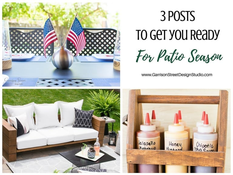 3 Posts to Get You Ready for Patio Season