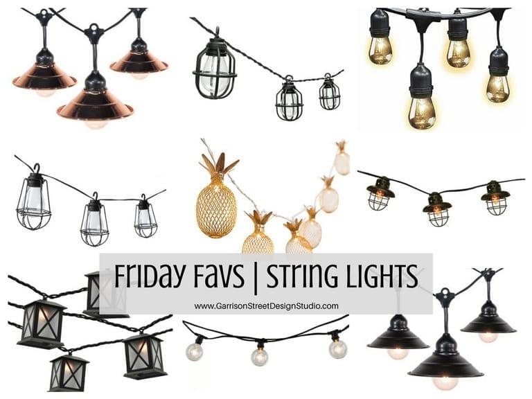 Friday Favs | String Lights