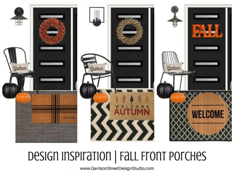 Design Inspiration | Fall Front Porches