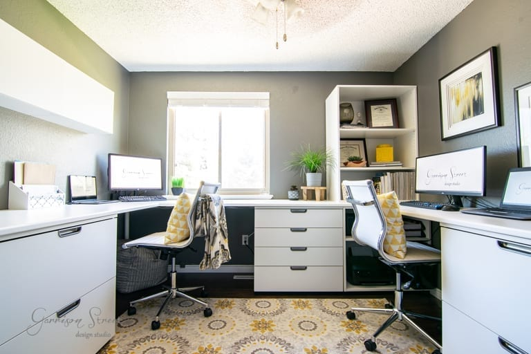 How Our Dual IKEA Home Office Saved Us