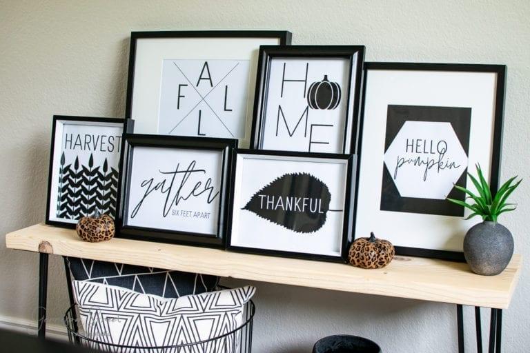 Modern Fall Printables