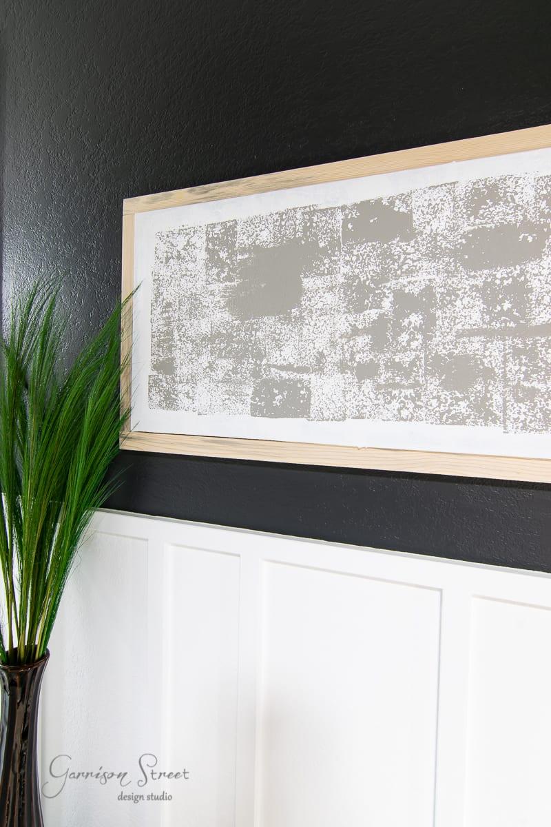 DIY Framed Canvas Art