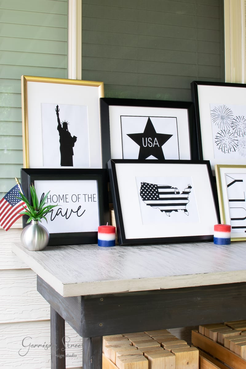 Modern 4th of July Printable Art
