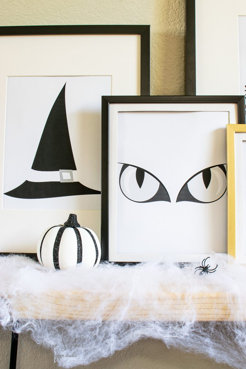 Spooky Halloween Printable Art